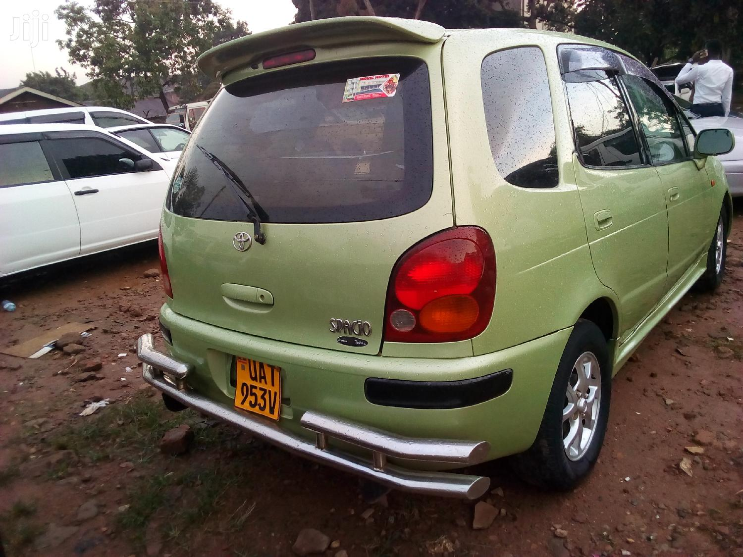 Archive: Toyota Spacio 2003 Green
