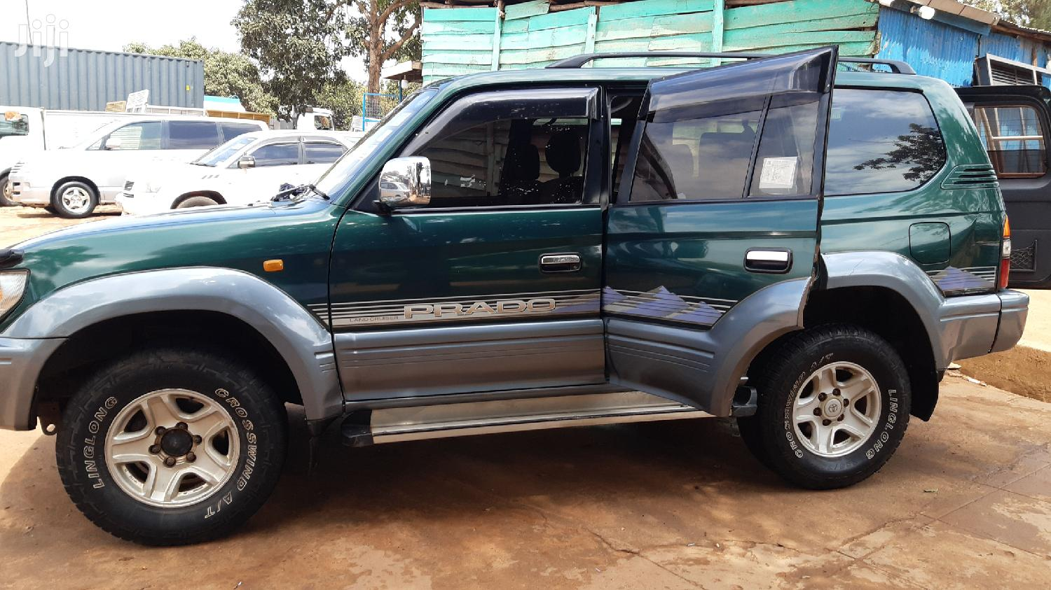 Toyota Land Cruiser Prado 1997 Green