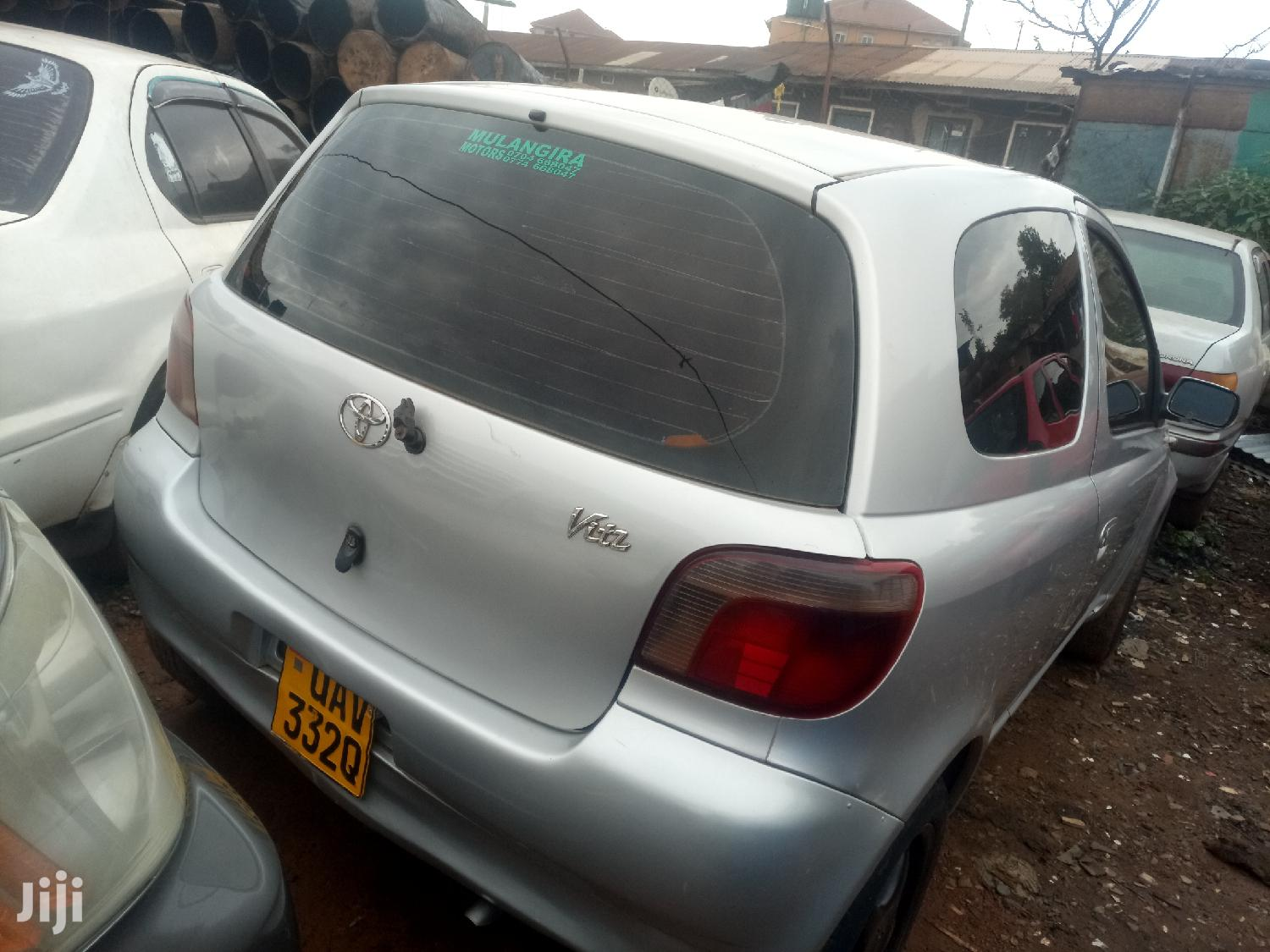 Toyota Vitz 2000 Silver | Cars for sale in Kampala, Central Region, Uganda