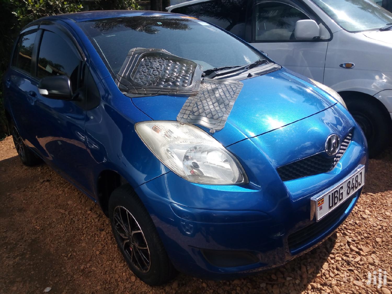 Toyota Vitz 2008 Blue