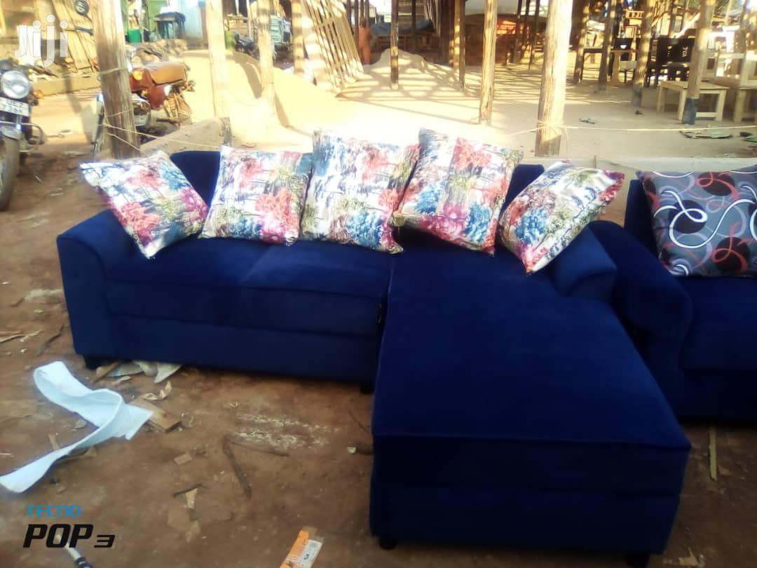 Sofas Blue   Furniture for sale in Kampala, Central Region, Uganda
