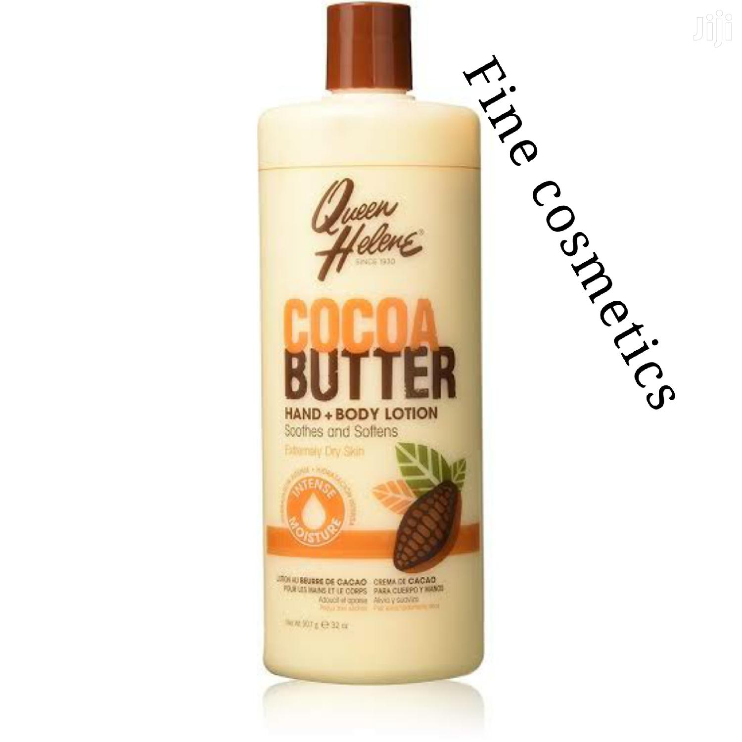 Queen Hellen Cocoa Butter Hand and Body Lotion 946ml | Skin Care for sale in Kampala, Central Region, Uganda