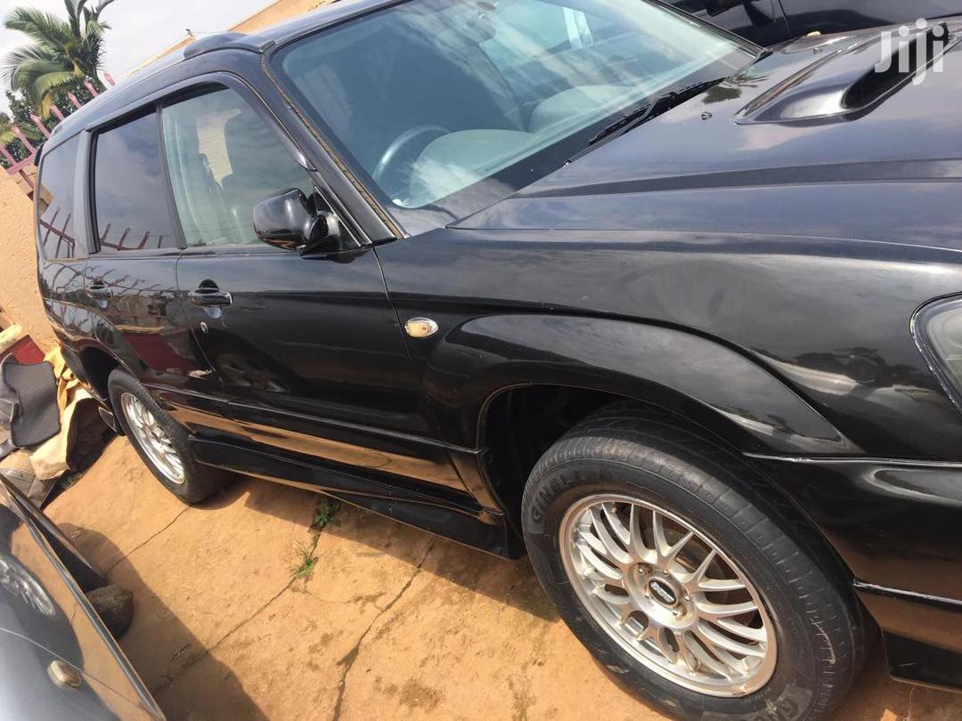 Archive: Subaru Forester 2003 Black