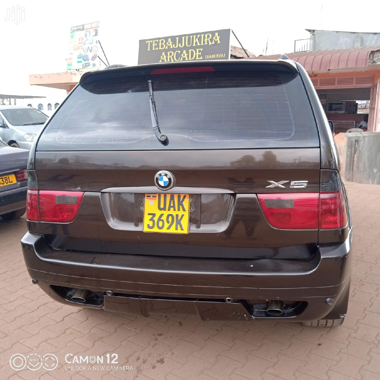 BMW X5 2000 4.4 AWD Brown | Cars for sale in Kampala, Central Region, Uganda