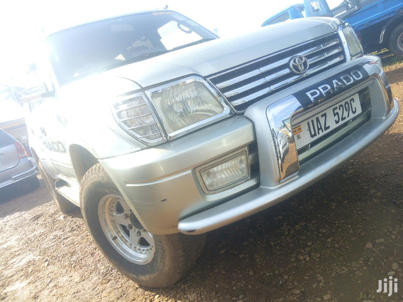 Toyota Land Cruiser Prado 1998 Silver   Cars for sale in Kampala, Central Region, Uganda