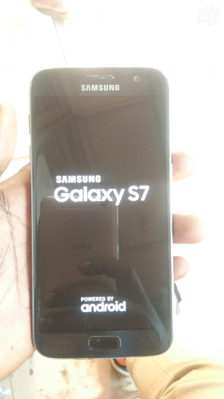 New Samsung Galaxy S7 32 GB Black   Mobile Phones for sale in Kampala, Central Region, Uganda
