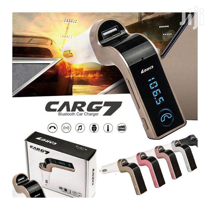 Car G7 Bluetooth, MP3 And FM Radio Player, Supports USB   Vehicle Parts & Accessories for sale in Kampala, Central Region, Uganda