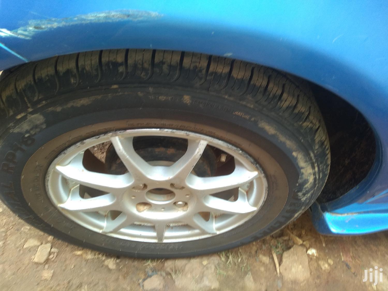 Archive: Toyota Vitz 1999 Blue