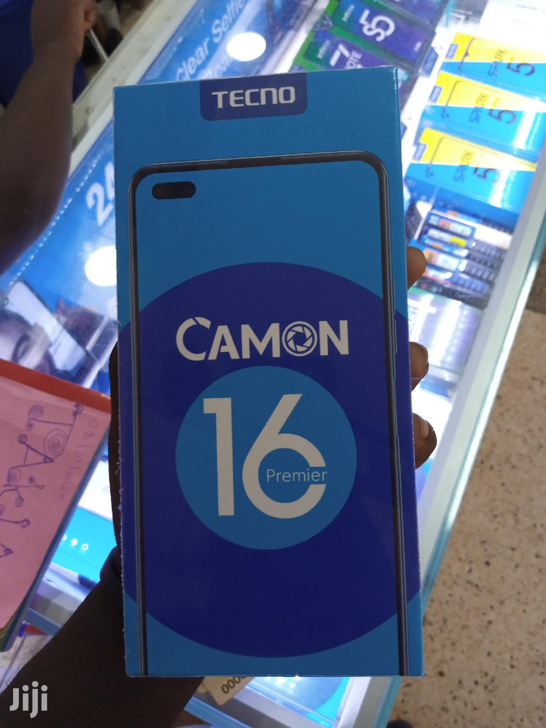 New Tecno Camon 16 Premier 128GB Black
