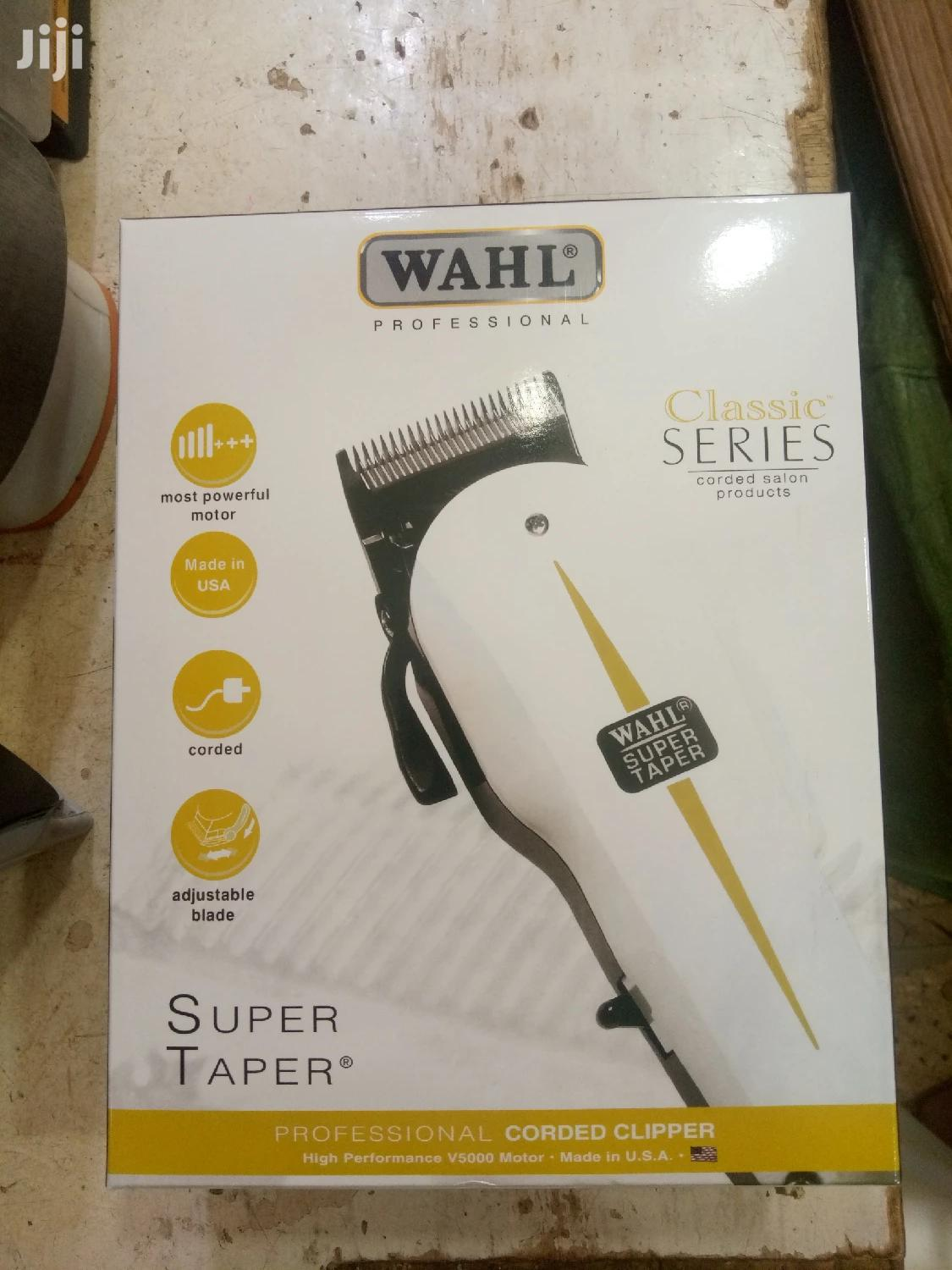 Generic Wahl Super Taper Hair Clipper Classic Series | Tools & Accessories for sale in Kampala, Central Region, Uganda