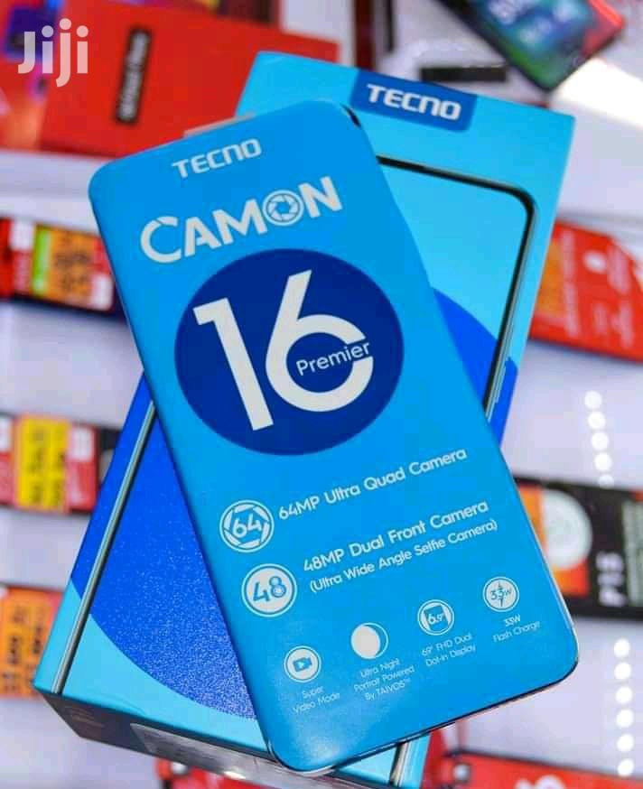 Archive: New Tecno Camon 16 Premier 128GB