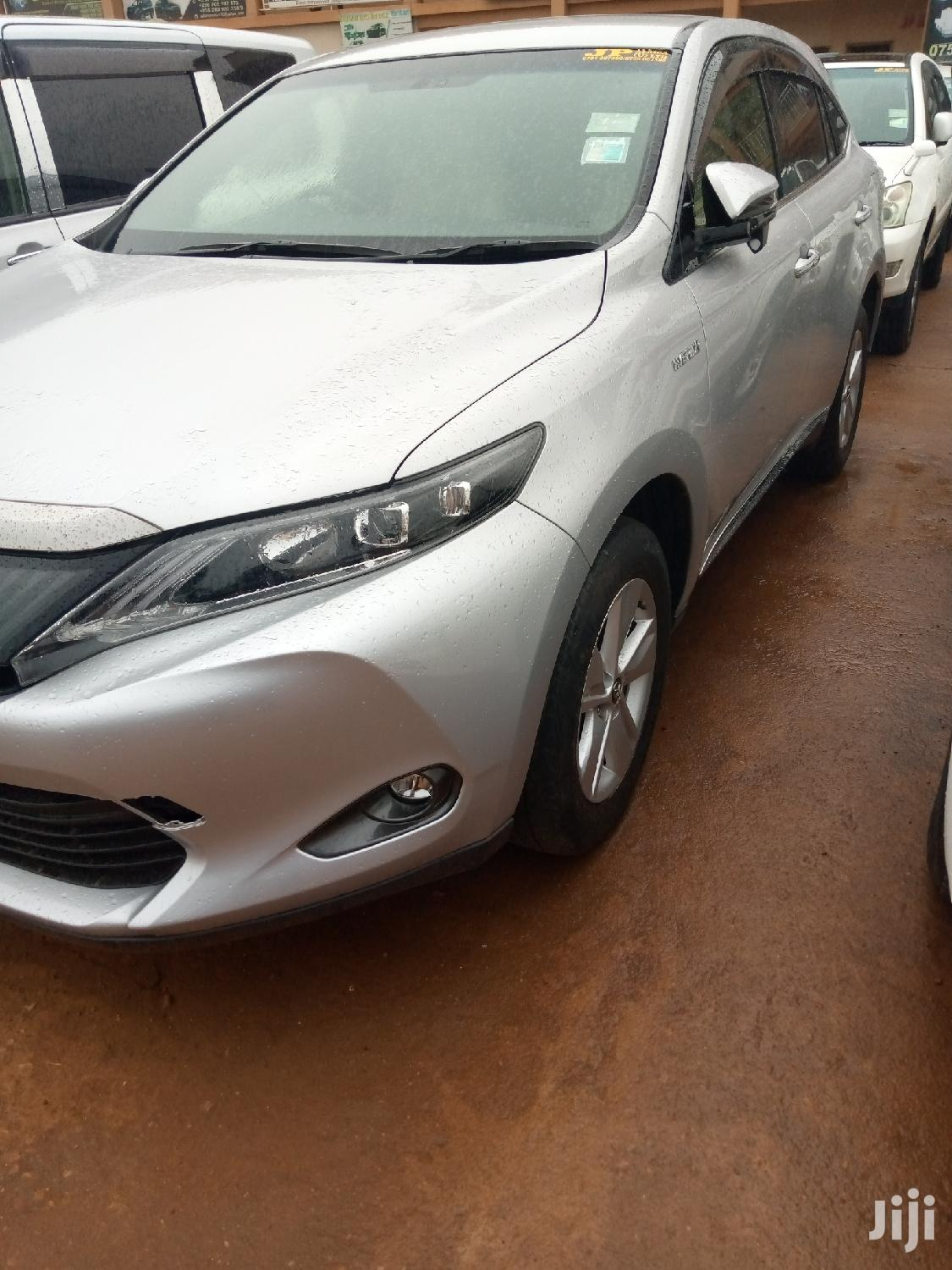 New Toyota Harrier 2015 Silver | Cars for sale in Kampala, Central Region, Uganda
