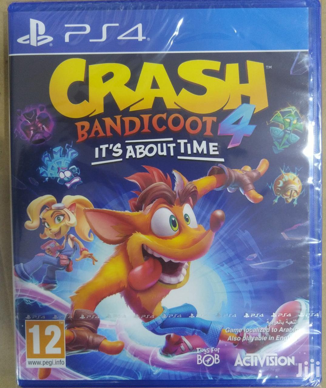 Crash Bandicoot...Ts Abt Time