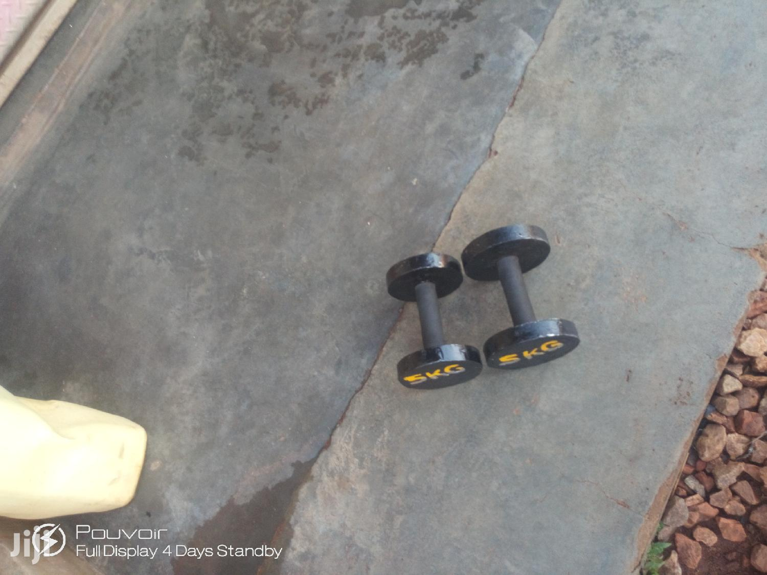 DUMBBELLS for Gym | Sports Equipment for sale in Kampala, Central Region, Uganda