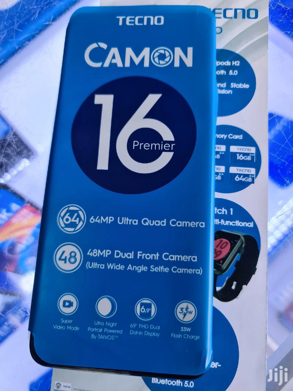 New Tecno Camon 16 Premier 128GB Blue