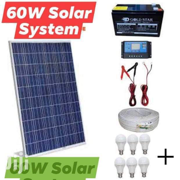 60w Solar System (Full Kit)