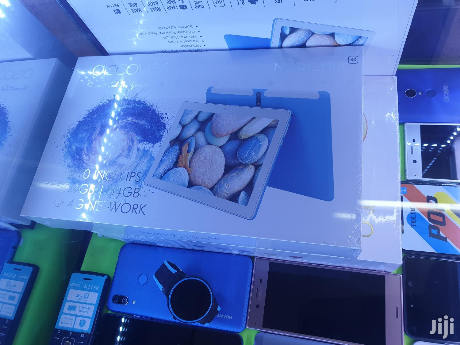 New Discover Note 7 Plus 64 GB White   Tablets for sale in Kampala, Central Region, Uganda