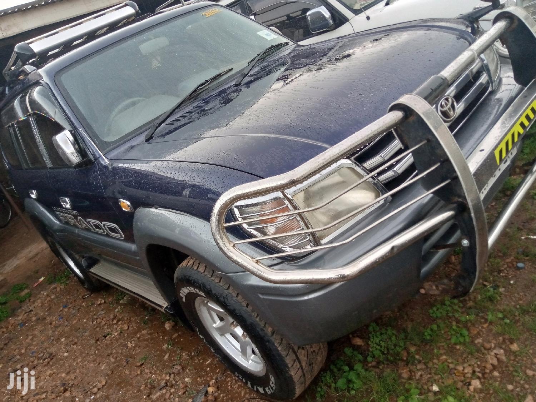 Toyota Land Cruiser Prado 2002 TX Blue