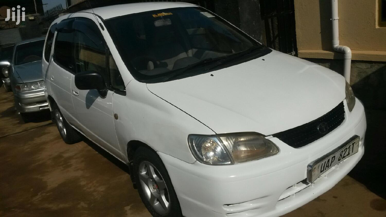 Archive: Toyota Spacio 1999 White