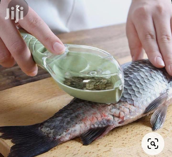 Fish Scale Scrapper