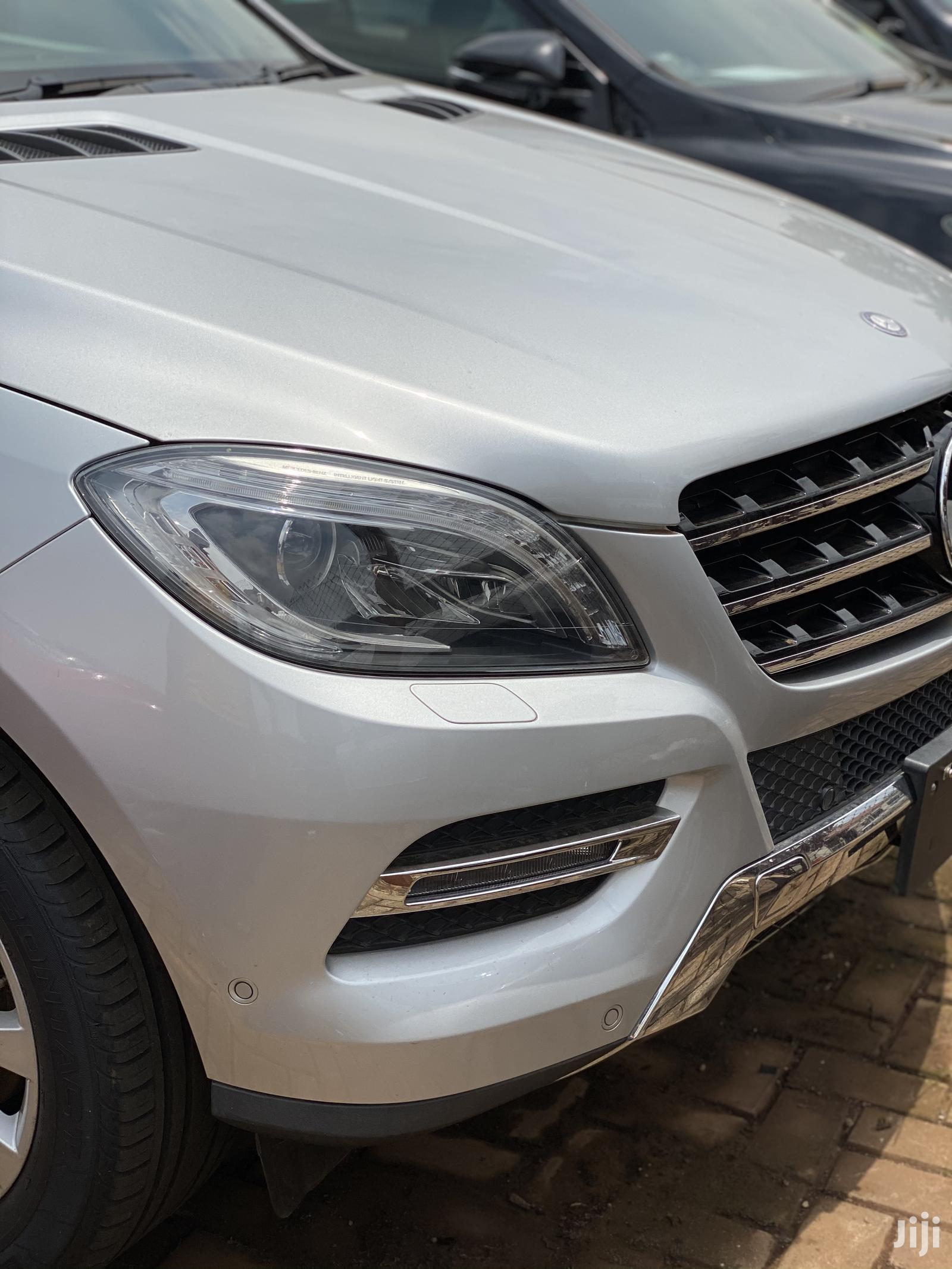 Mercedes-Benz M Class 2013 Silver
