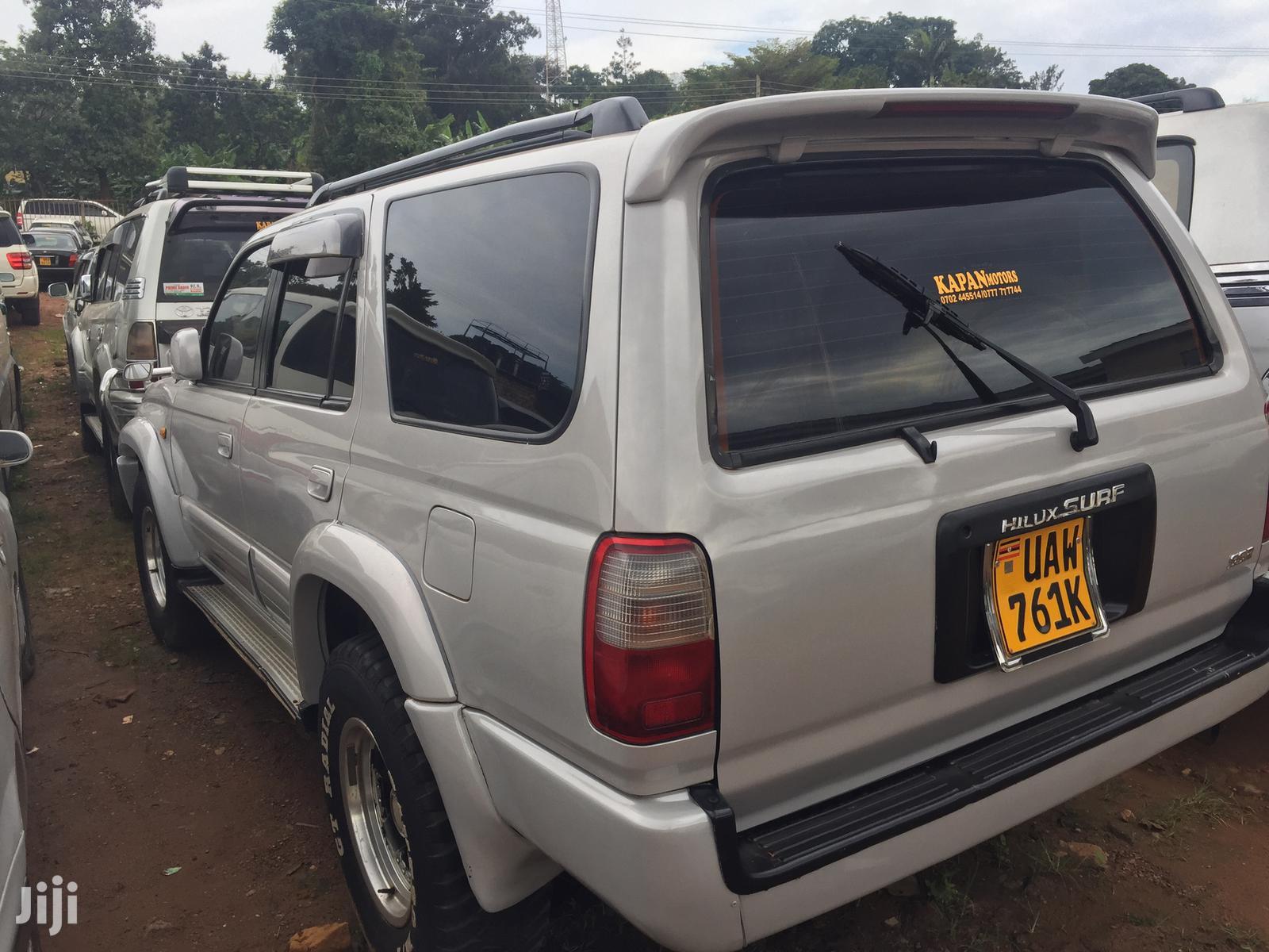 Toyota Surf 1999 Silver | Cars for sale in Kampala, Central Region, Uganda