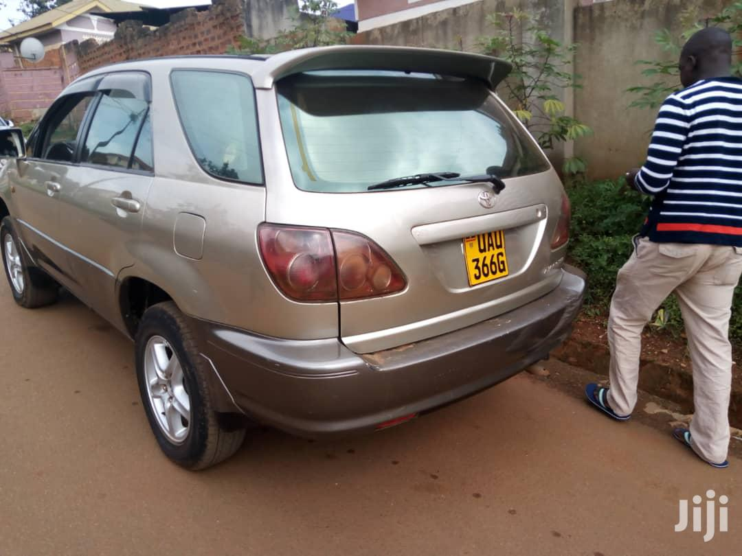 Toyota Harrier 1998 Gray