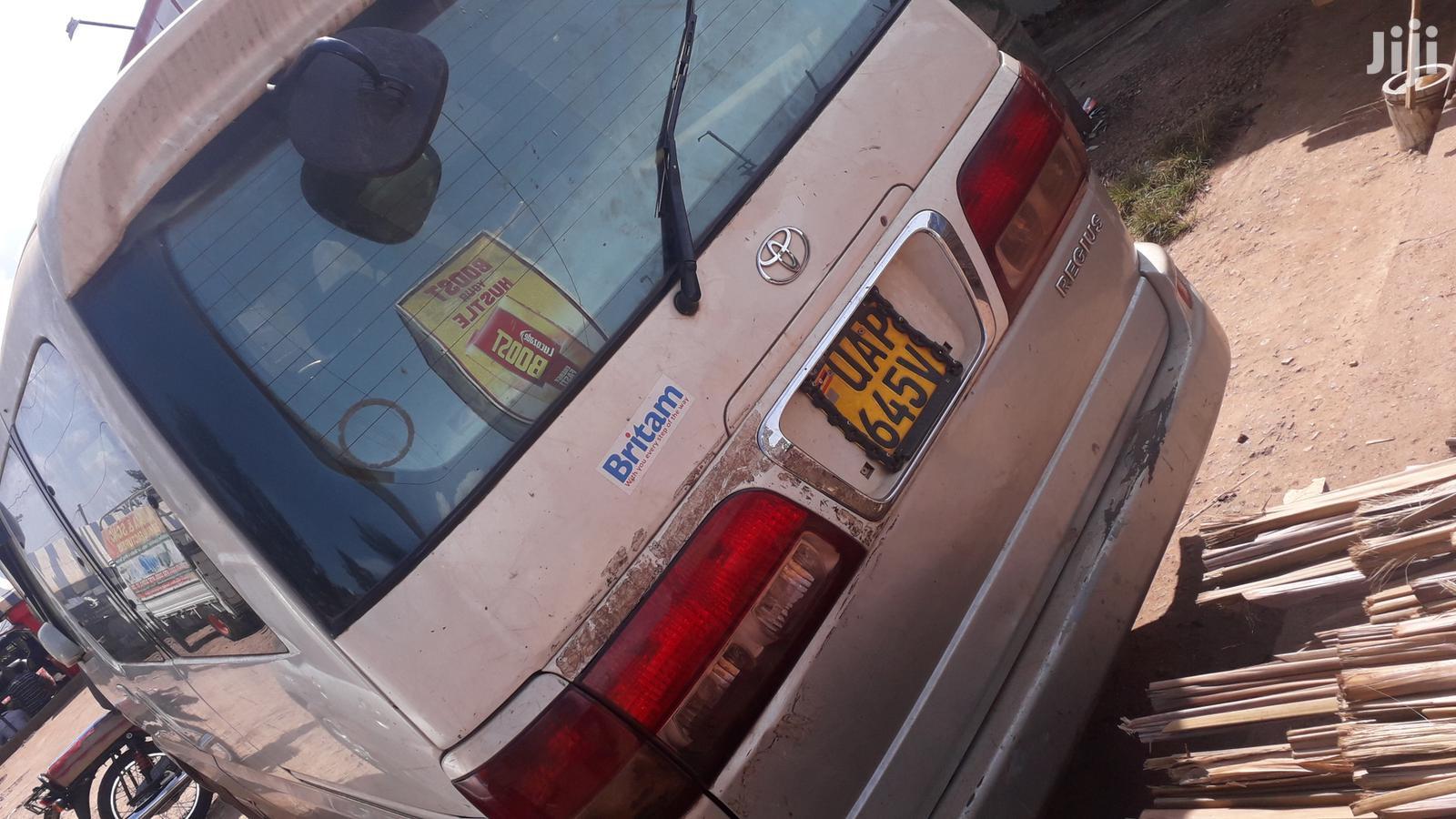 Toyota Regius Van 1995 White | Cars for sale in Kampala, Central Region, Uganda