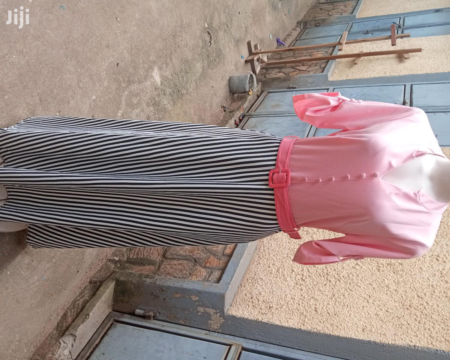 Pink Long Dress Available