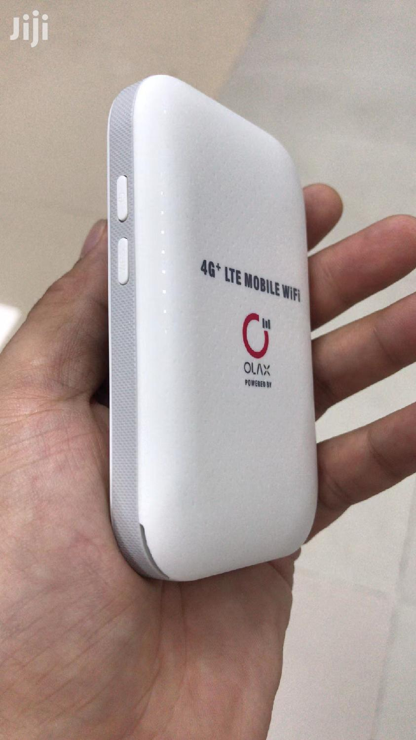 Factory Unlocked 4G+ Olax Mifi With Lcd Screen | Networking Products for sale in Kampala, Central Region, Uganda