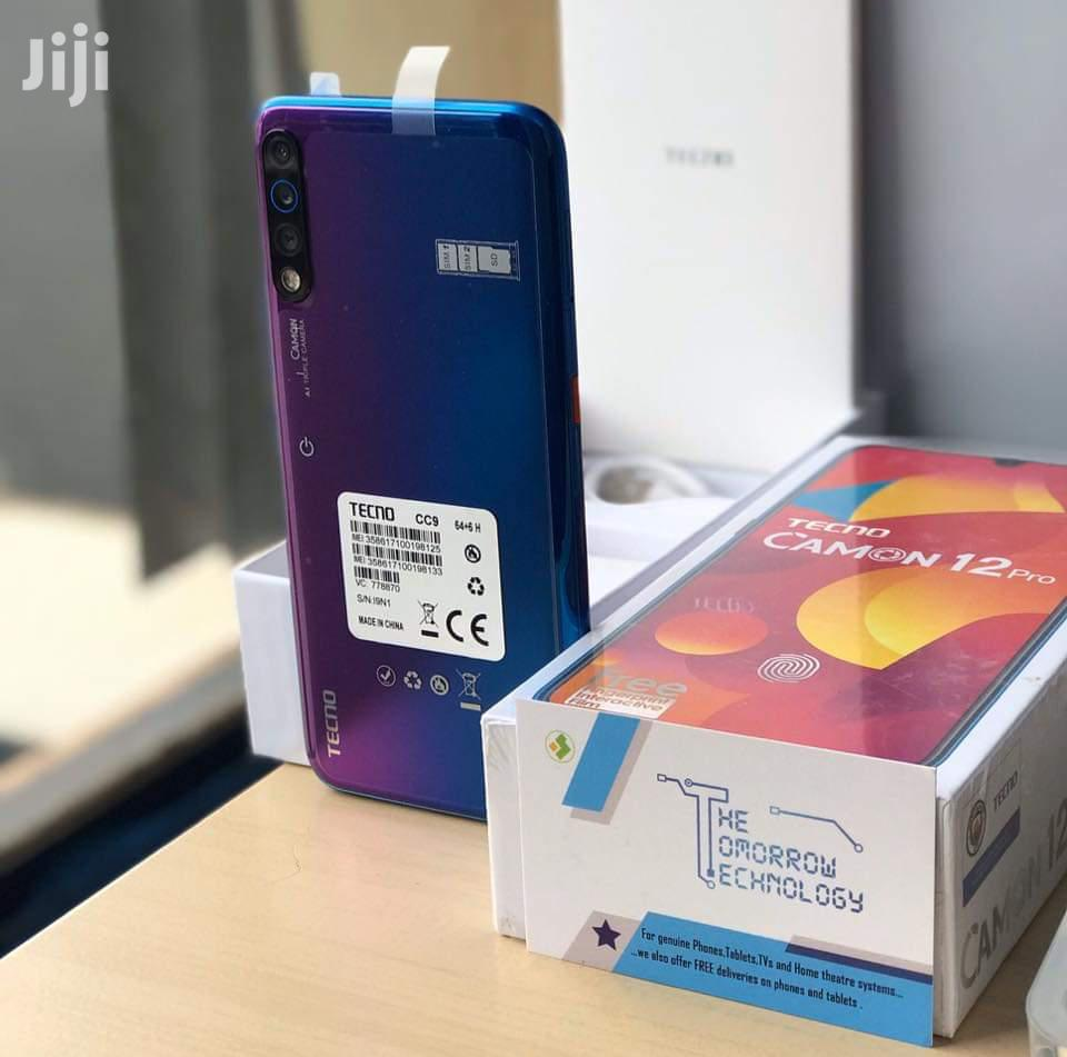 Archive: New Tecno Camon 12 Pro 64 GB Blue