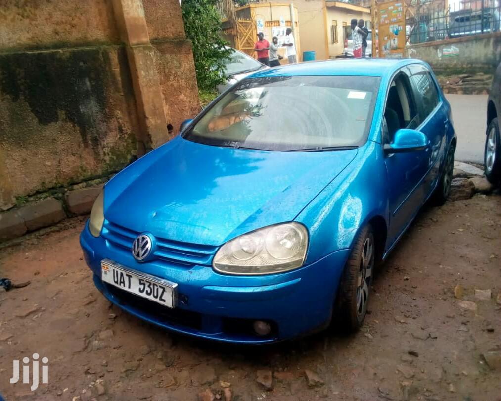 Archive: Volkswagen Golf GTI 2003 Blue