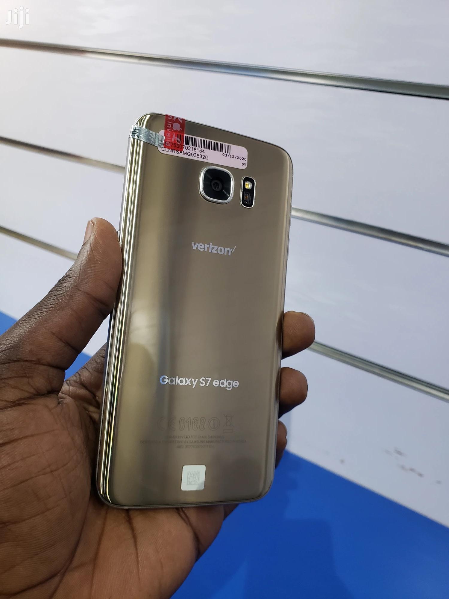New Samsung Galaxy S7 edge 32 GB Blue | Mobile Phones for sale in Kampala, Central Region, Uganda