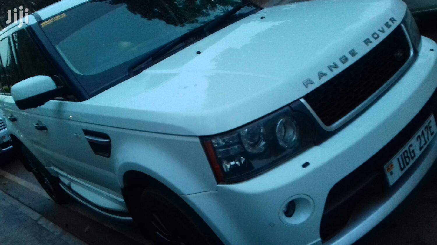 Archive: Land Rover Range Rover Sport 2008 White