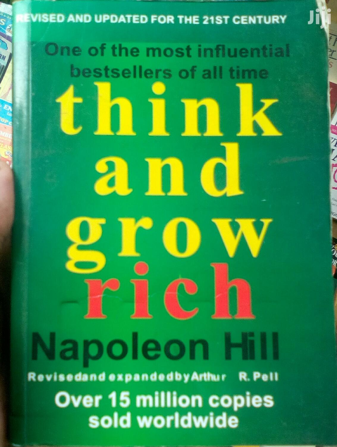 Think and Grow Rich Book - Nepoleon Hill