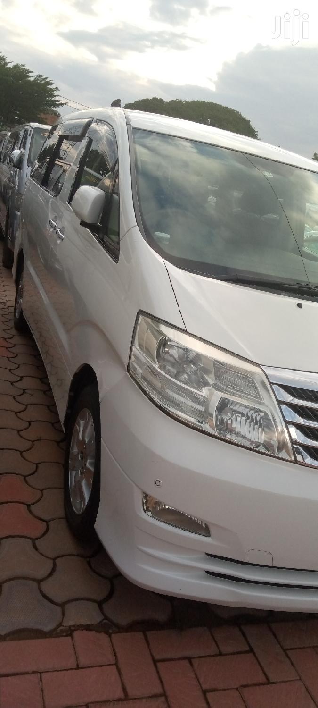 New Toyota Alphard 2007 White | Cars for sale in Kampala, Central Region, Uganda