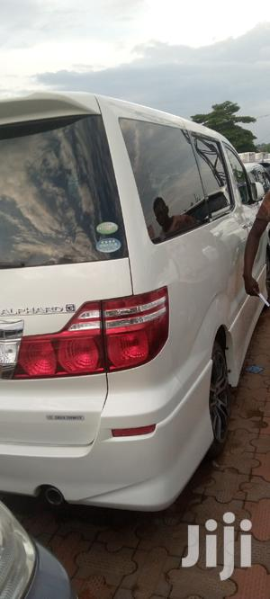 New Toyota Alphard 2008 White | Cars for sale in Central Region, Kampala