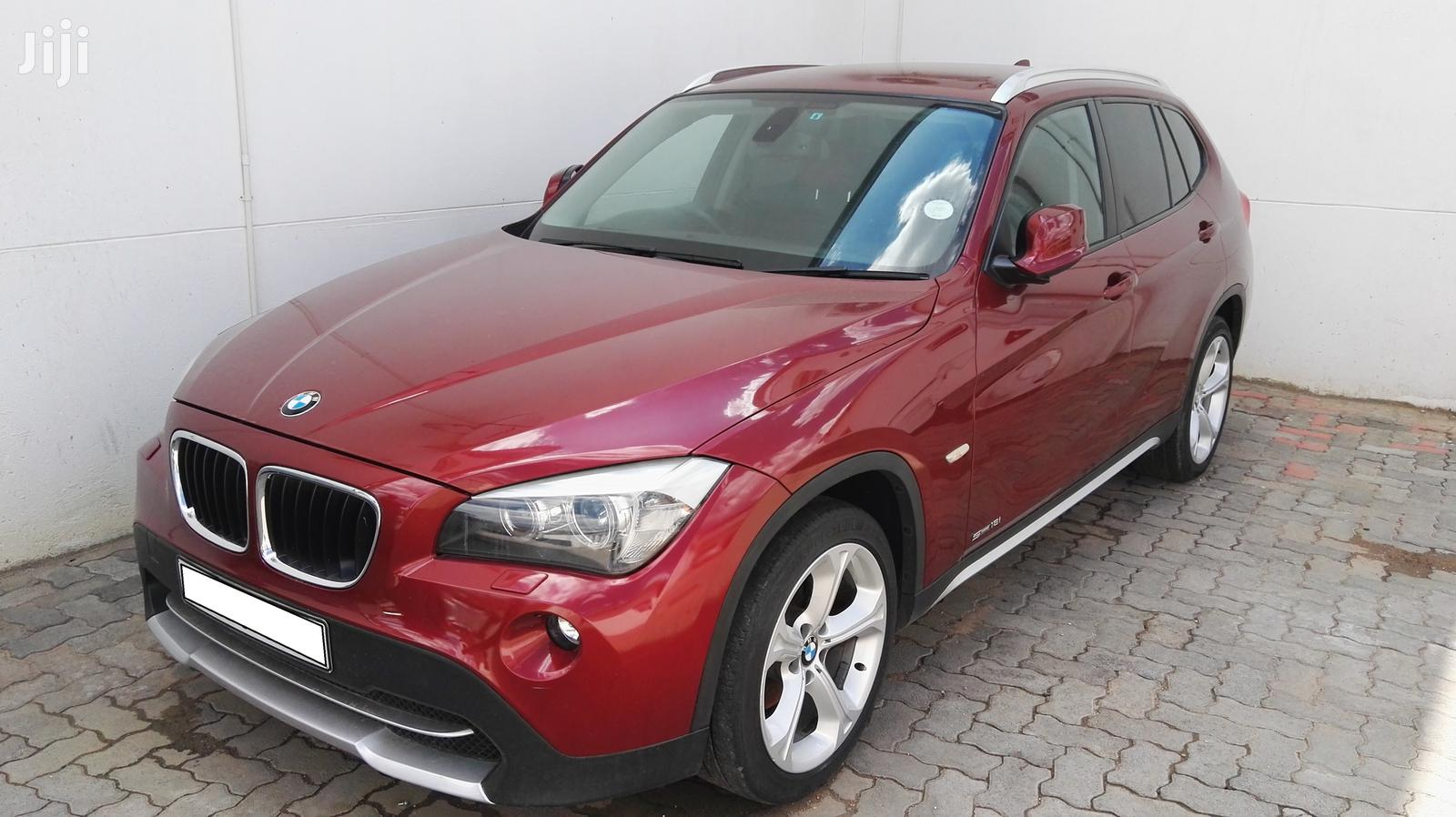 BMW X1 2010 Red