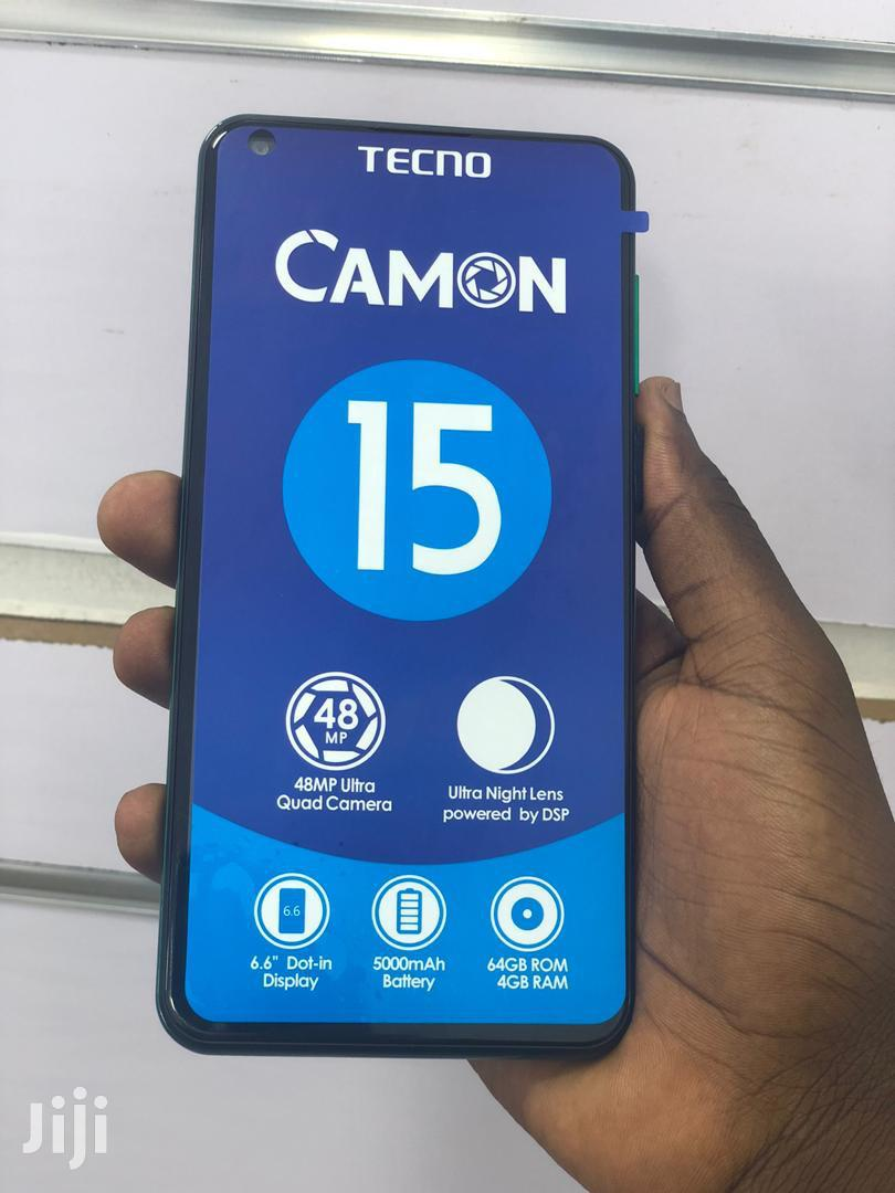 Archive: New Tecno Camon 15 64 GB Black