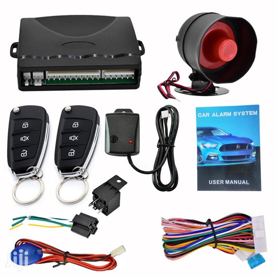 Flip Key Car Alarm System