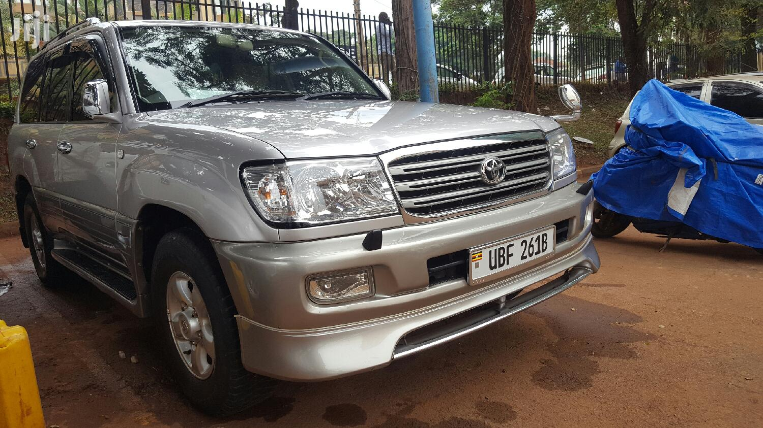 Archive: Toyota Land Cruiser 2004 Silver