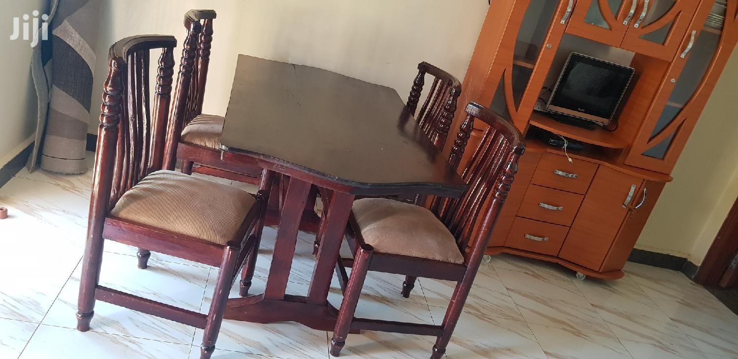 Quality Four Seater Dining Table | Furniture for sale in Kampala, Central Region, Uganda