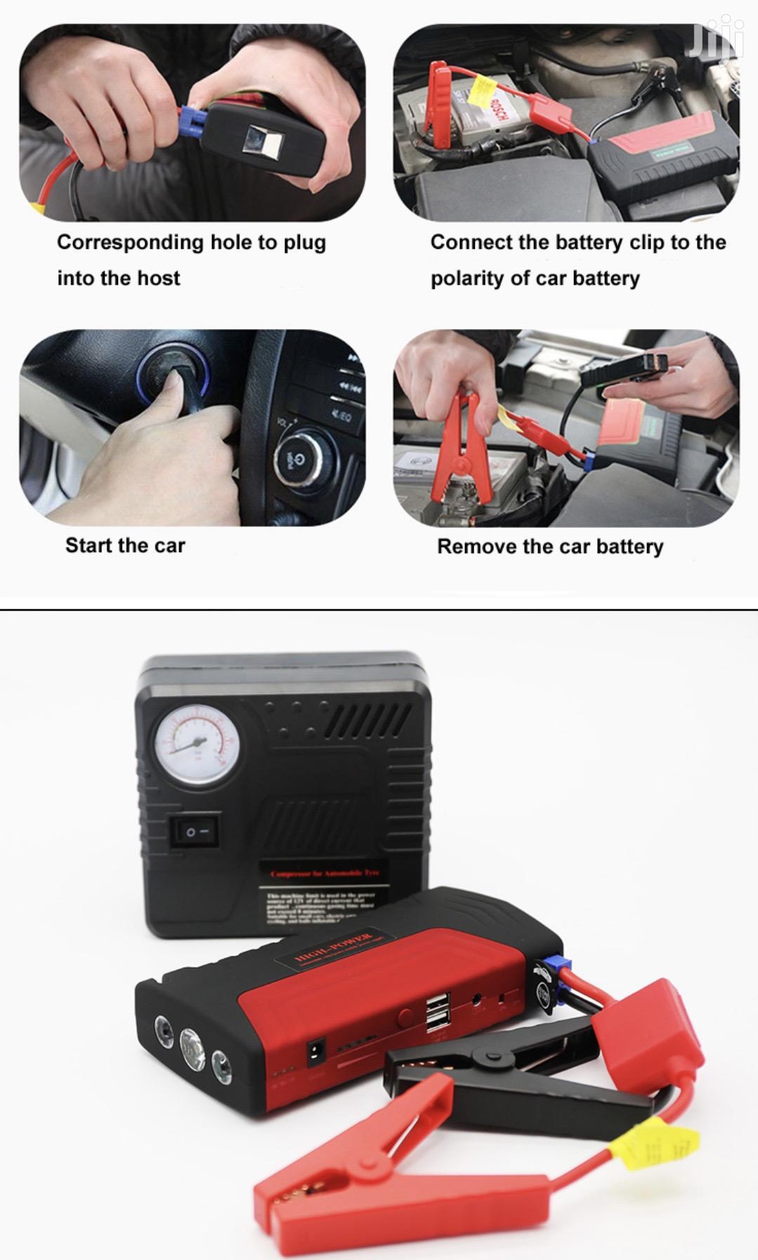 MC09 Jump Starter Kit | Vehicle Parts & Accessories for sale in Kampala, Central Region, Uganda