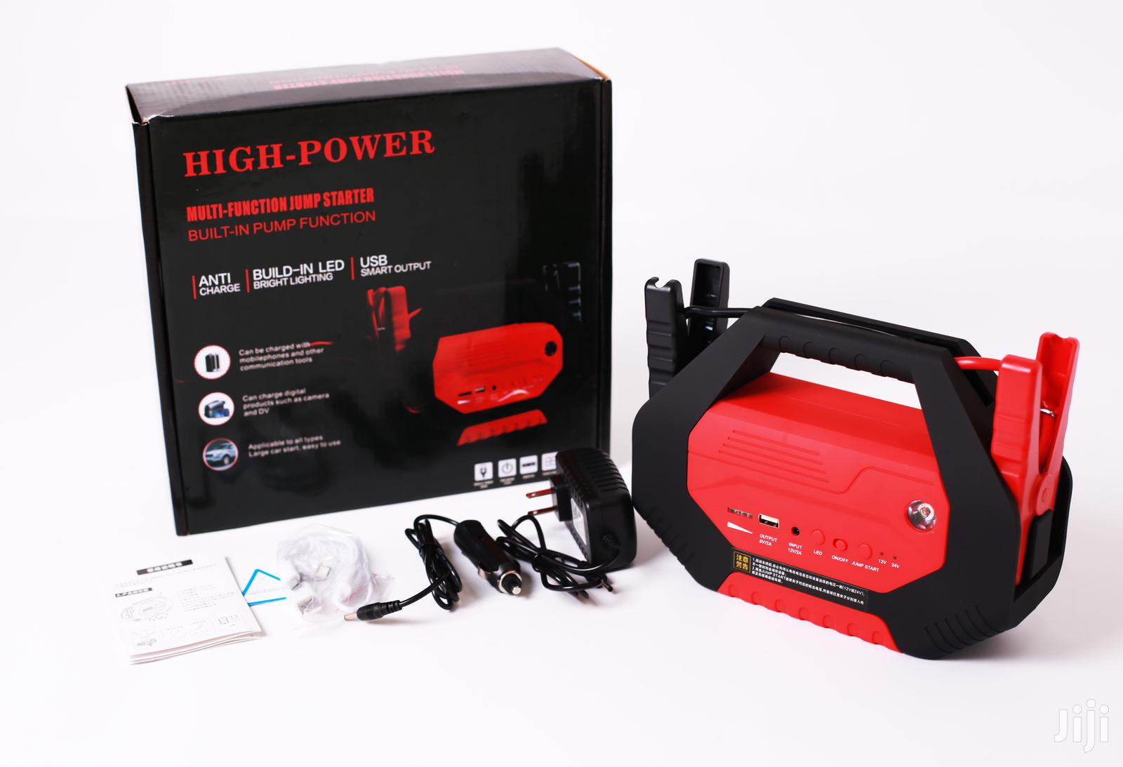High Power Emergency Jump Starter 12/24V For All Car Sizes. | Vehicle Parts & Accessories for sale in Kampala, Central Region, Uganda