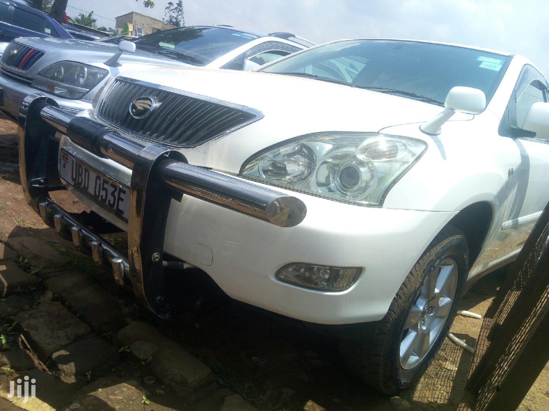 Toyota Harrier 2004 White