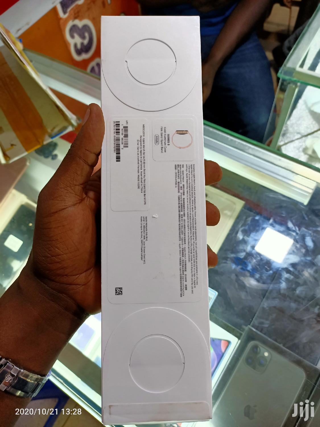 Genuine Box Pack Apple Watch Series 6, 44mm (2020)   Smart Watches & Trackers for sale in Kampala, Central Region, Uganda