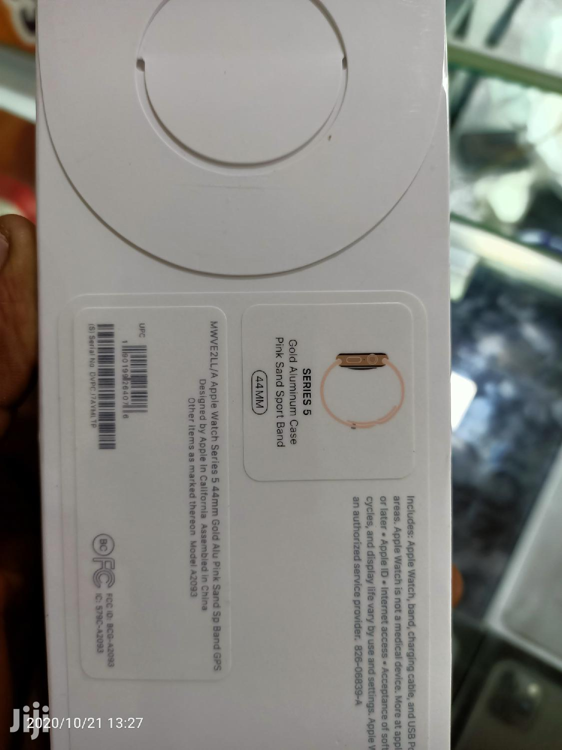 Genuine Box Pack Apple Watch Series 5, 44mm Gprs   Smart Watches & Trackers for sale in Kampala, Central Region, Uganda