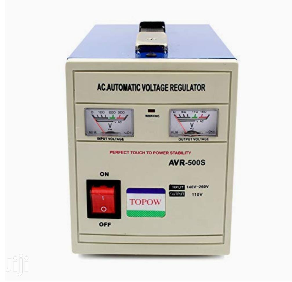 Airstar Stabilizer 500 Watts Automatic Voltage Regulator | Electrical Equipment for sale in Kampala, Central Region, Uganda