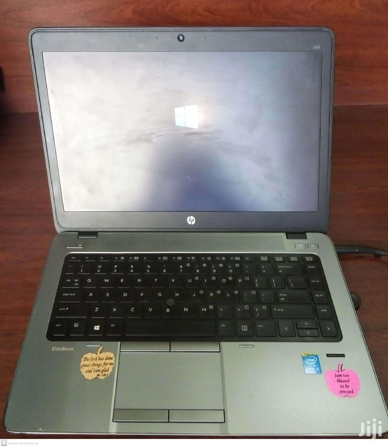 Laptop HP EliteBook 840 G1 4GB Intel Core I5 HDD 500GB | Laptops & Computers for sale in Kampala, Central Region, Uganda