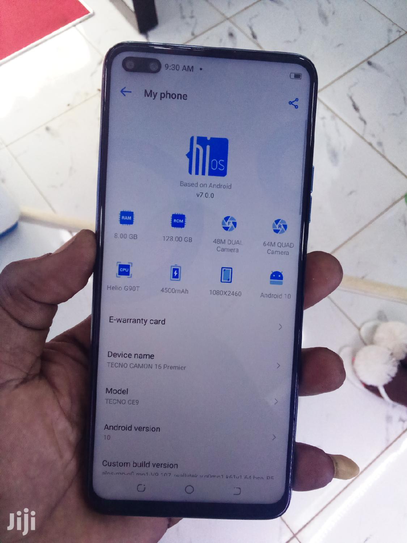 New Tecno Camon 16 Premier 128GB Silver   Mobile Phones for sale in Wakiso, Central Region, Uganda